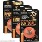 Starmark Bentoball Small Medium Large Everlasting Dog Toy Treat Bento Ball Toys