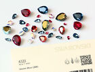 Genuine Swarovski 4320 Pear Fancy Stone Crystal Rhinestone * Many Colors & Sizes