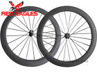 Free shipping 25mm wide U Shape 60mm Tubular carbon bicycle road wheelset