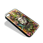 DMT Illuminati Psychedelic Hallucinogen Acid Hipie Cover Case for iPhone