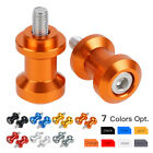 CNC 6mm Swingarm Spools For Yamaha YZF-R1 R6 Aprilia RSV1000 Triumph Daytona 675 $7.49 USD on eBay