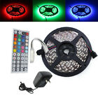 Sale 5M 5050 RGB 150 LED SMD Light Strip Mini 24&44 Key IR 12V 2A Power Supply