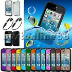 Waterproof Shockproof Dirt Proof Protective Case For iPhone 4 4S + 2pcs Adapter