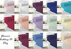 Plain Dyed Polycotton Fitted sheet Flat sheet Base Valance Sheets - 19 Colours
