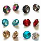20pcs Glass Sofa Button Sofa Decor Headboard Wall Decor Shiny Upholstery