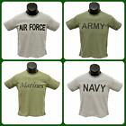 NEW! Trooper Clothing Kid's Military Service PT T-Shirts, in Olive Drab or Gray
