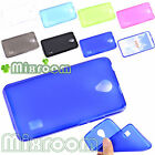 CUSTODIA COVER CASE IN SILICONE SEMITRASPARENTE GEL PER HUAWEI ASCEND Y635