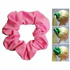 Pink Soft & Silky Scrunchie Ponytail Holder Hair Accessories  50+Colors