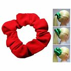 Red Soft & Silky Scrunchie Ponytail Holder Hair Accessories  50+Colors