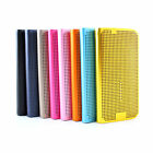 New leather flip case cover for Samsung Galaxy s6 +stylus BK