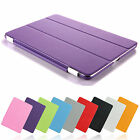 Magnetic Smart Front+Back Cover Ultra Slim Stand Case Cover for iPad 2 3 4