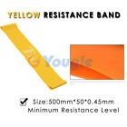 Tension Resistance Band Exercise Loop Crossfit Strength Weight Training Fitness