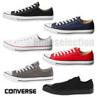 white canvas shoes for men - Converse CHUCK TAYLOR All Star Low Top Unisex Canvas Shoes Sneakers NEW