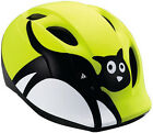 MET Fahrrad - Kinderhelm Buddy Yellow Cat Buddy + Super Buddy  46-57 cm Neongelb