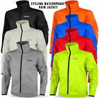 Mens Cycling Jacket Waterproof High Visibility Running Top Rain Coat S to 2XL