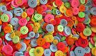 80g -120g - 160g or 200g BAG ASSORTED MIXED SUMMER COLOURS MIXED BUTTONS