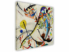 WASSILY KANDINSKY BLUE SEGMENT PAINTING FRAMED PRINTS CANVAS WALL ART PICTURES