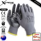 24 Pairs Xtreme Safety Gloves Nitrile General Purpose Mechanical Work Gloves