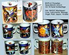 BOPLA Porzellan MAGIC Gold 18 Karat MAXITASSE MUG Tasse Becher 0,3l stapelbar