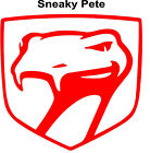 Dodge Viper Decals , Sneaky Pete, Fang, Stryker. Choose Style Size & Color