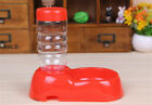 Health Plastic Pet Drinking Water Dispenser For Dogs Cats with Bottle Automatic