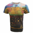 FLY 53 T SHIRT ALTERED STATES MENS SUBLIMATION PRINT TOP UK L