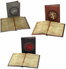 Official Game Of Thrones Light Up Notepad Journal Note Pad GOT House Gift