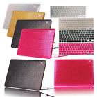 """Bling Shiny Hard Cases + Keyboard Cover For Macbook Air Pro 11""""13""""15""""12"""" Retina"""