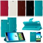 For Lenovo K3/K3 Note Luxury Flip PU Leather Wallet Card Case Cover Skin Stand
