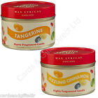 Wax Lyrical Jelly Belly Scented Tin Candle Tangerine Sizzling Cinnamon