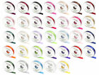 25mm x 20m Eleganza Double Side Satin Ribbon; 33 Shades Weddings & Crafts;