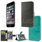 For Apple iPhone 6 / iPhone 6S Plus Leather Card Holder Wallet Flip Case Cover