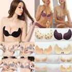 Fashion Backless Invisible Bra Silicone Push Up Adhesive Stick On Gel Strapless