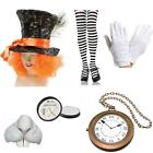 Mad Hatter Alice in Wonderland Fancy Dress Accessories