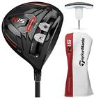 TAYLORMADE R15 460 DRIVER BLACK CHOOSE FLEX AND LOFT FUJI SPEEDER SHAFT NEW 2015