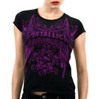 Metallica RnR Winged Logo Girls Babydoll Shirt S M L XL XXL New T-Shirt