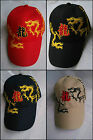 "New embroidered ""dragon"" baseball cap adjustable 5-colors"