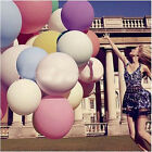 "2Pcs 36"" Inch Giant Big Ballon Latex Birthday Wedding Party Helium Decor Fashion"