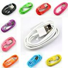 Color 1M Data Sync Charging Charger Cable for iPhone 5 5S 5C 6 Plus iPod Touch