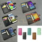 For Samsung Galaxy S / Note Luxury Leather Card Wallet Flip Stand Case Cover