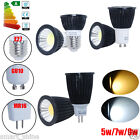 10x E27 MR16 GU10 COB LED Bulbs Spotlight 5W 7W 9W Energy Saving Lamp Light