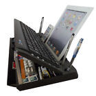 Full Size Bluetooth 6 in 1 Keyboard, Stand and Organizer