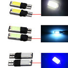 T10 CAR BULBS LED ERROR FREE CANBUS SMD COB WHITE ICE BLUE W5W 501 SIDE LIGHT UK