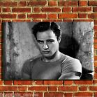 MARLON BRANDO FILM COOL CANVAS WALL ART BOX PRINT PICTURE SMALL/MEDIUM/LARGE