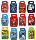 Top Trumps Sport Titles, Travel Toy Card Game Rugby Cricket Football WWE Cycling