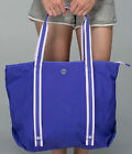 NWT Lululemon Summer Lovin Tote Beach Bag Iris Flower Purple Shoulder Yoga Purse
