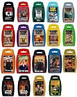 Top Trumps TV and Film Titles, Travel Toy, Gift, Dr Who, Harry Potter, 007 Bond