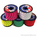 3mm Polyester Braided Rope Mini Reel 19m for boat, tent, kayak, washing line etc