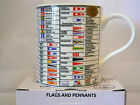 Fine China Gift Boxed Flags and Pennants Mug - Great Gift - Includes Postage