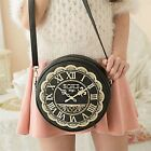 Clock Watch Pattern Bag Side Bag Cute Kawaii Lolita Handbags Purses 6colors